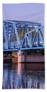 Blue Bridge Georgia Florida Line Hand Towel