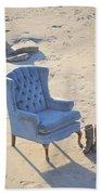 Blue Chair Bath Towel