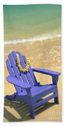 Blue Chair Bath Towel