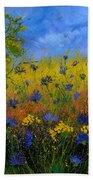 Blue Cornflowers 7761 Bath Towel