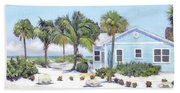 Blue Cottage On Siesta Key Beach, Access 3 Bath Towel