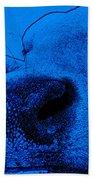 Blue Cow Bath Towel