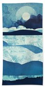 Blue Desert Bath Towel