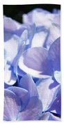 Blue Floral Art Prints Blue Hydrangea Flower Baslee Troutman Bath Towel