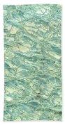 Blue Fossil Bath Towel