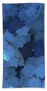 Blue Fungi Bath Towel
