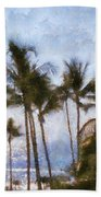 Blue Hawaii Bath Towel