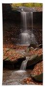 Blue Hen Falls And Cascade Bath Towel