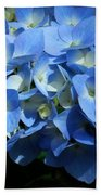 Blue Hydrangea II Bath Towel