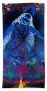 Blue Jogini Bath Towel