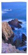 Blue Mermaid Reef At Sunset Bath Towel