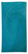 Blue Metal Spca Bath Towel