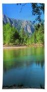 Blue Mood In Yosemite Bath Towel