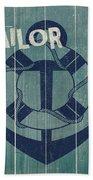 Blue Nautical-jp3614 Bath Towel