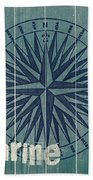 Blue Nautical-jp3616 Bath Towel
