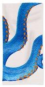 Blue Octopus Bath Towel
