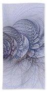 Blue Pagliai Ferns Bath Towel