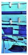 Blue Reflection Bath Towel