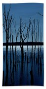 Blue Reservoir - Manasquan Reservoir Bath Towel