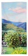 Blue Ridge Mountains Bath Towel