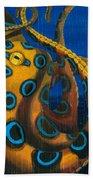 Blue Ringed Octopus Bath Towel