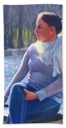 Blue River Bath Towel