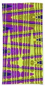 Blue Sky And Color Squares Abstract,#4 Bath Towel