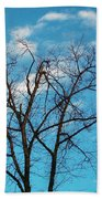 Blue Sky Bath Towel