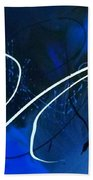 Blue Speed Bath Towel
