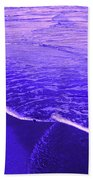 Blue Wash Bath Towel