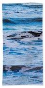 Blue Waves Bath Towel
