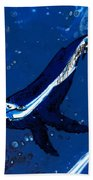 Blue Whale Bath Towel