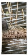 Blue Winged Teal Hand Towel