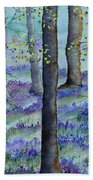 Bluebell Wood Hand Towel