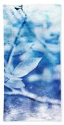 Blueberry Blues Bath Towel