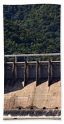 Bluestone West Virginia Dam Panorama Bath Towel