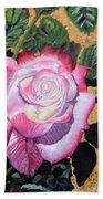 Blushing Rose Bath Towel