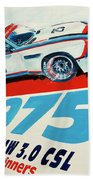 Bmw 3.0 Csl Sebring 1975 Peterson Redman Bath Towel