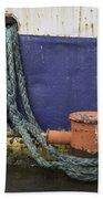 Boat Detail Husavik Iceland 3701 Bath Towel