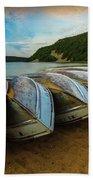 Boats At Rest Bath Towel