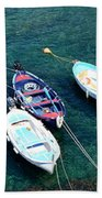 Boats On A Line Bath Towel