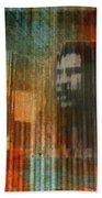 Bob Marley Abstract II Bath Towel