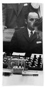 Bobby Fischer (1943-2008) Bath Towel