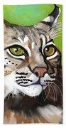 Bobcat Katta Bath Towel
