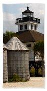 Boca Grande Lighthouse Bath Towel