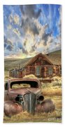 Bodie Ghost Town Hand Towel