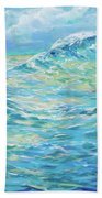 Bodysurfing Rolling Wave Hand Towel