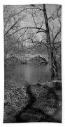 Boiling Springs Stone Bridge Bath Towel