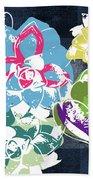 Bold Succulents 2- Art By Linda Woods Bath Towel by Linda Woods
