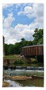 Bollinger Mill And Covered Bridge Bath Towel
